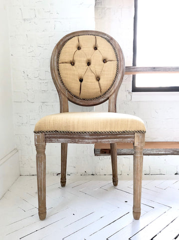 Tiger's Eye + Frankincense Side Chair