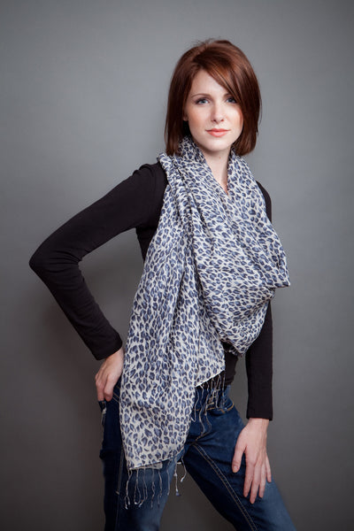Water Shawl Animal Print
