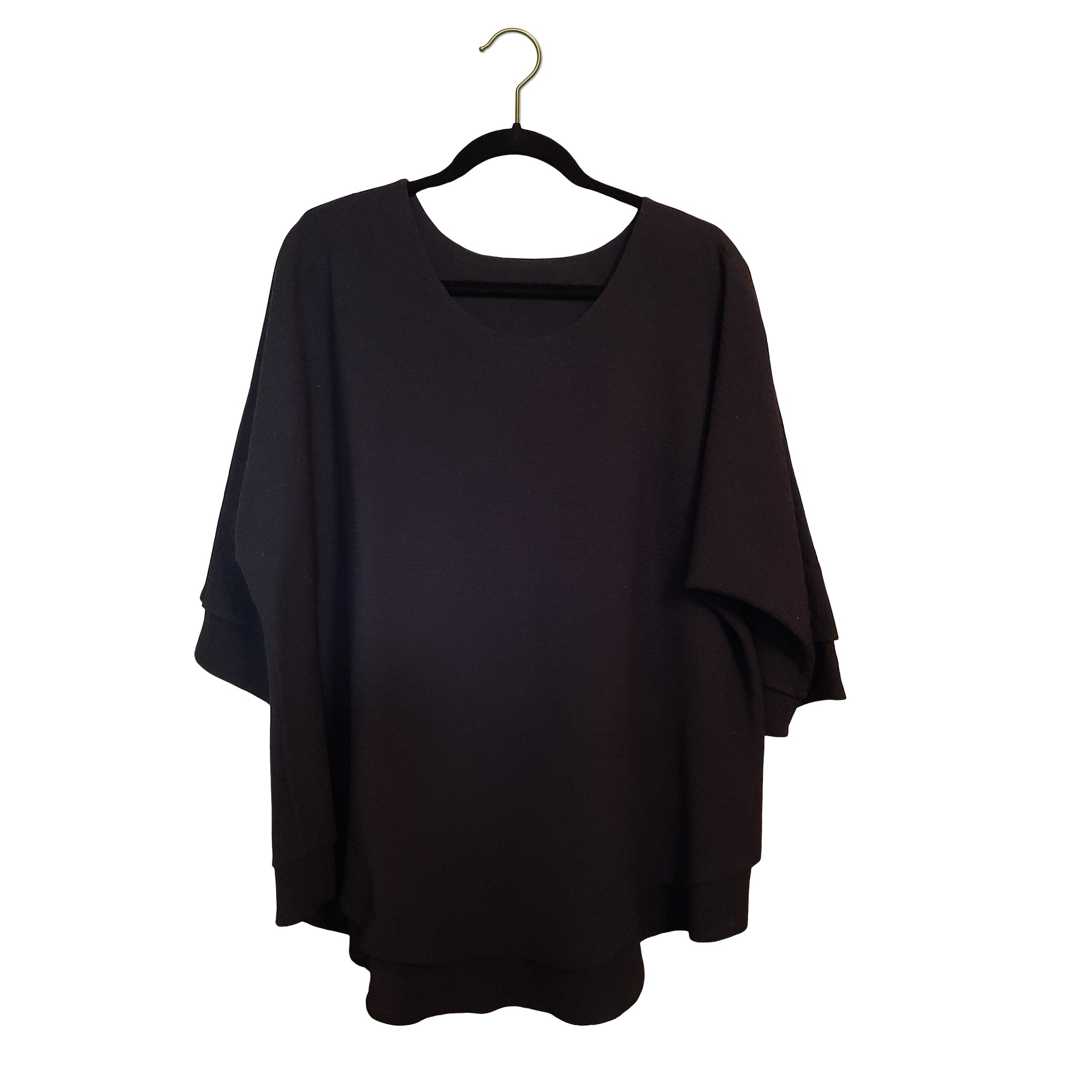 The Batwing #2: Tunic Crinkle Cotton Size L-XL