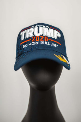 No More Bullshit Trump Signature Hat