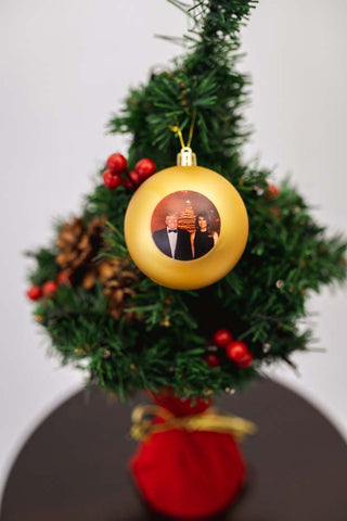 First Couple Ornament