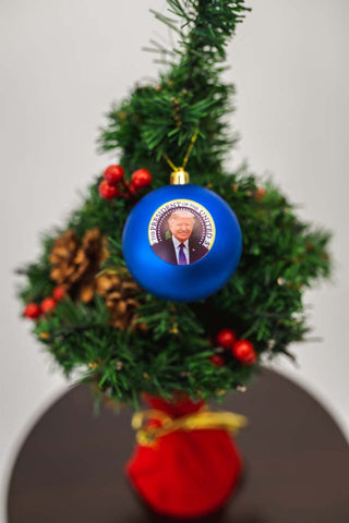 Trump Christmas Ball