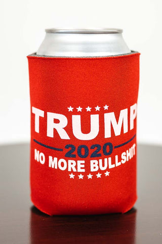 No More Bullshit Trump Can Koozie