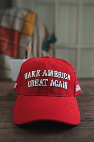 MAGA Hat (RED) front