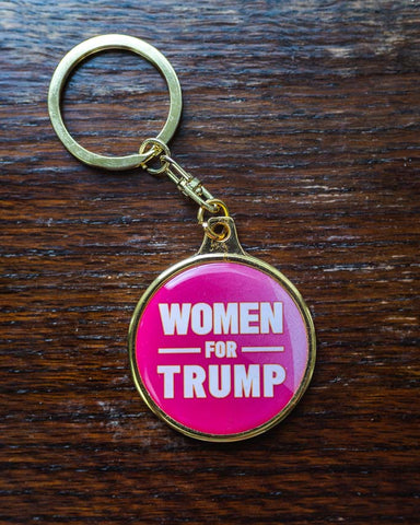 Women for Trump Key Chain