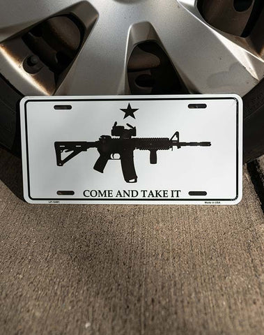 Come & Take It Tag