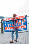 Re-Elect Trump 2020 Keep America Great! Flag
