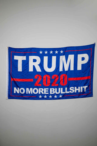 Trump 2020 No More B.S. FLAG