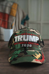 Trump Make America Great Again 2020 Signature Hat (CAMO)