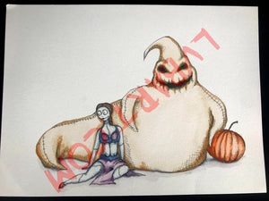 Oogie The Hutt 11x15 ORIGINAL…