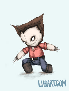 Logan Plush Fine Art Print