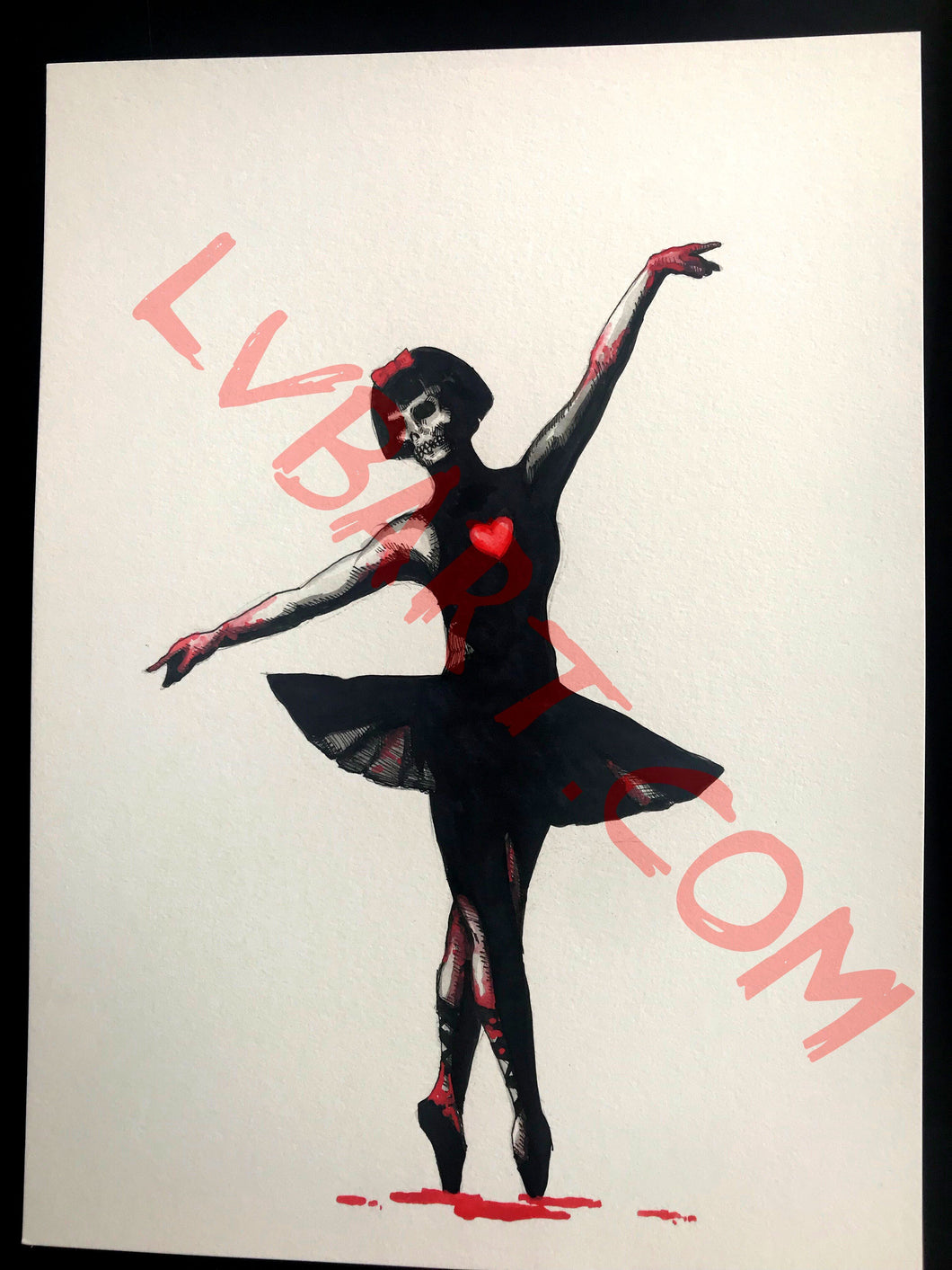 Ballerina 11x15 ORIGINAL Artwork