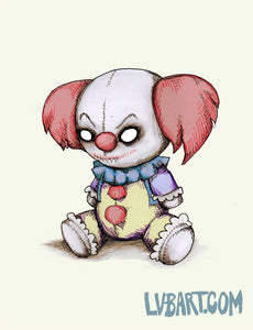 Pennywise Plush Fine Art Print