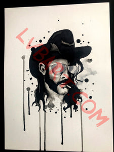 Lemmy 11x15 ORIGINAL Artwork