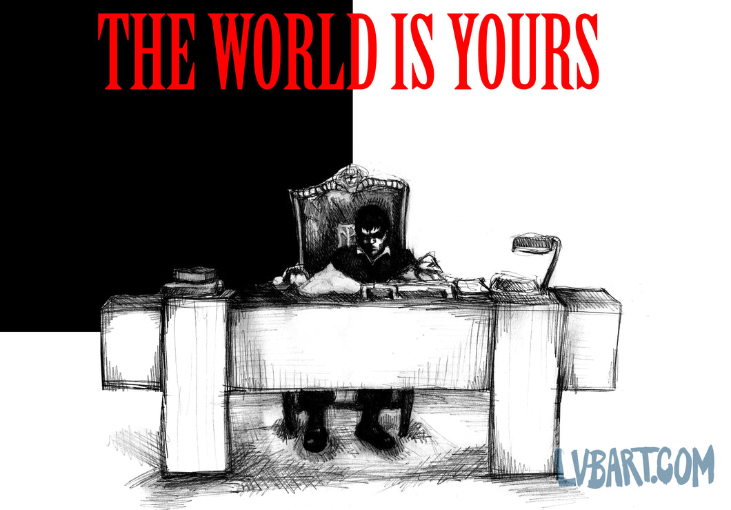 The World Is Yours Fine Art Print