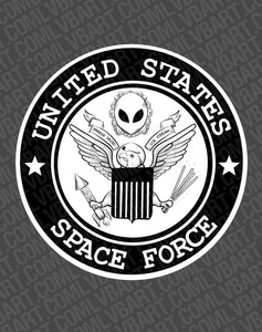United States Space Force Fine Art Print