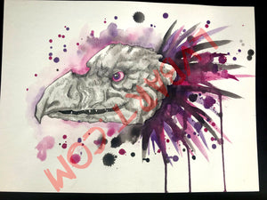 Skeksis 11x15 ORIGINAL Artwork