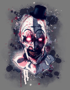 Art the Clown Fine Art Print
