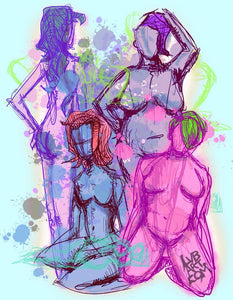 Body Positive Fine Art Print