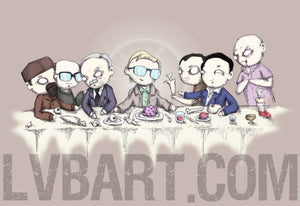 The Last Cannibal Supper Fine Art Print