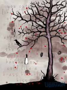 Death Tree Fine Art Print