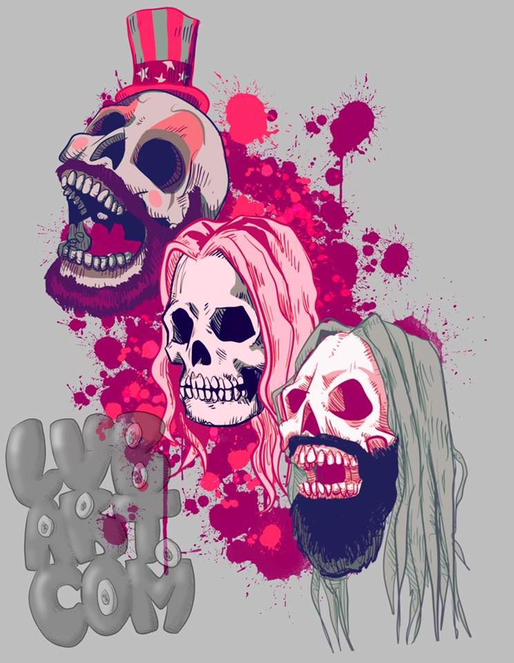 Three From Hell Fine Art Print