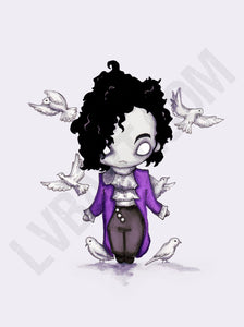 When Doves Cry Fine Art Print