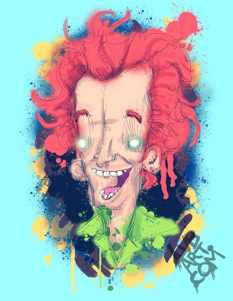 Drop Dead Fred Fine Art Print