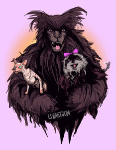 Edgar, Rankle, and Rose Fine Art Print