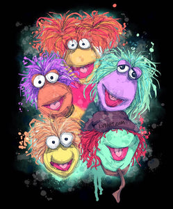 Fraggle Rock Fine Art Print