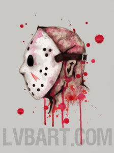 Friday The 13th Fine Art Print