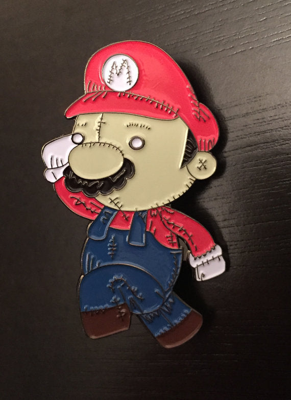 Plumber Plush Enamel Pin