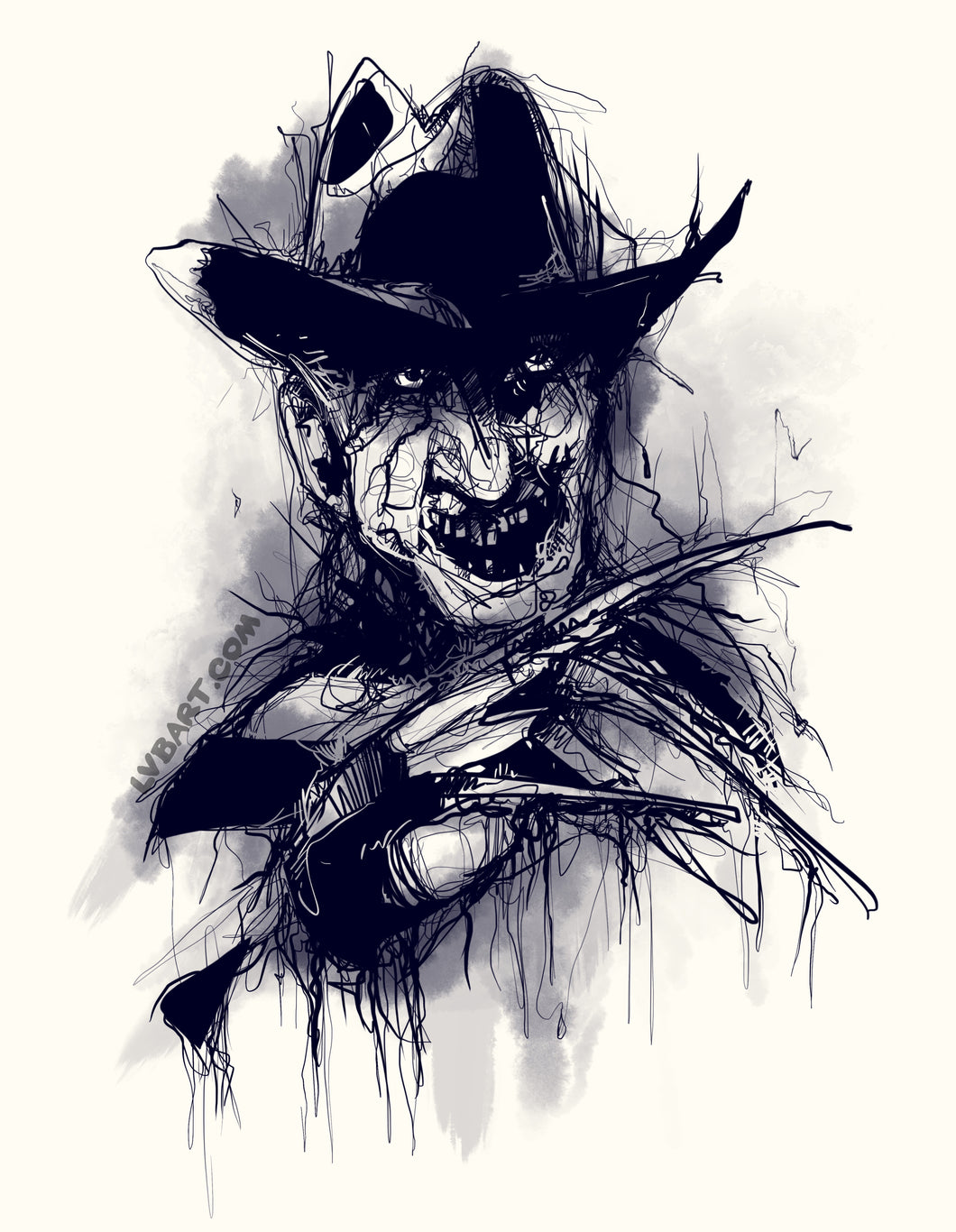 Scary Stories To Tell In The Dark; The Groundskeeper Fine Art Print