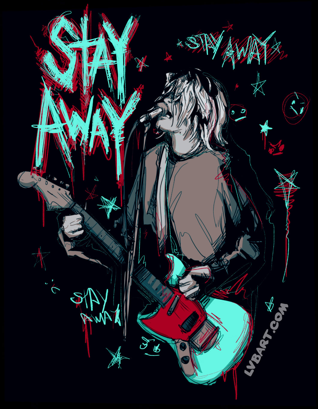 Stay Away Fine Art Print