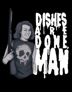 Dishes Are Done Fine Art Print