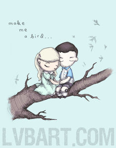 Make Me A Bird Fine Art Print