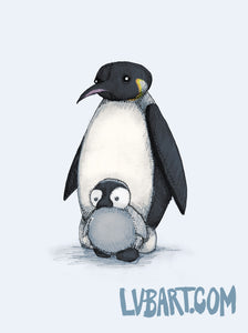 Penguins Fine Art Print