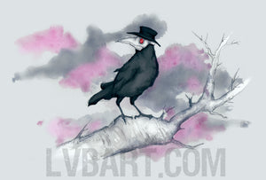 Plague Crow Fine Art Print