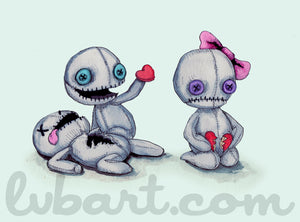 Plush Love 2.0 Fine Art Print