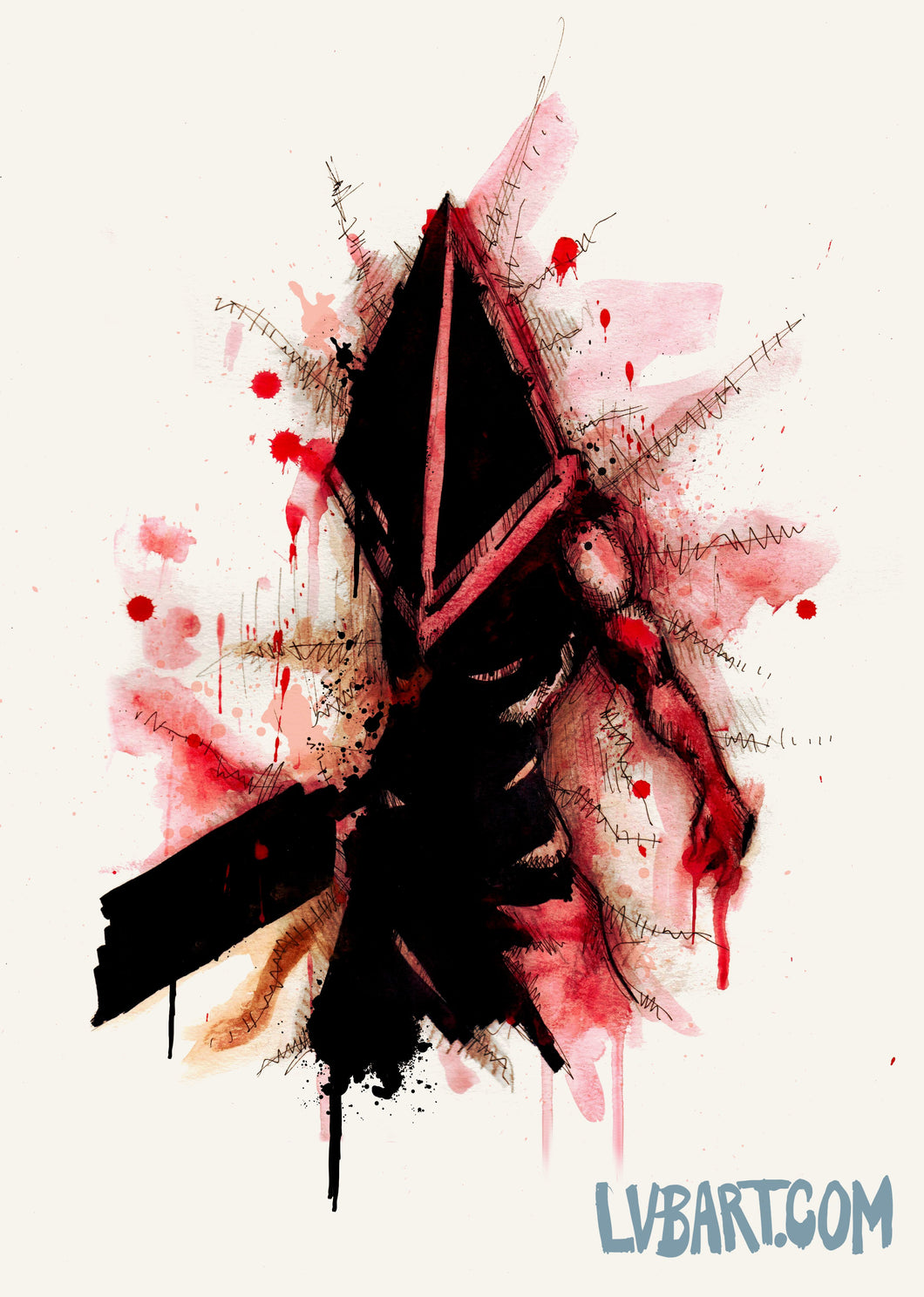 Pyramid Head Fine Art Print