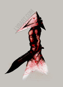 Pyramid Head 2.0 Fine Art Print