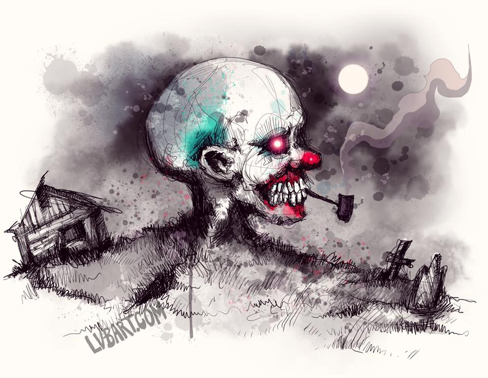 Scary Stories Fine Art Print