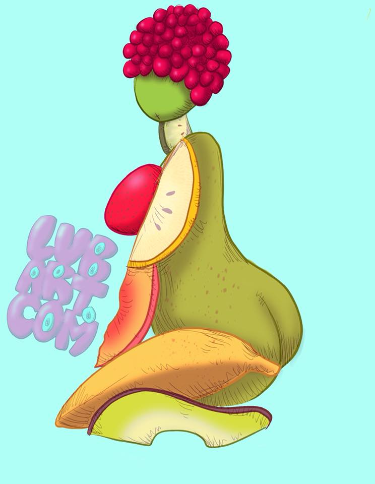 Thick Fruit Fine Art Print