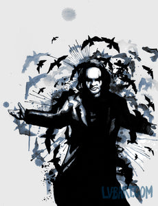 The Crow Murder Fine Art Print