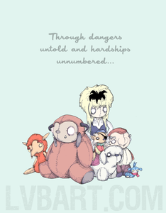 Through Dangers Untold Fine Art Print