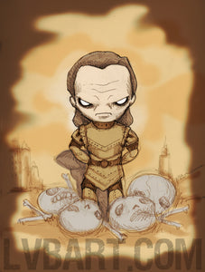 Scourge of Carpathia Fine Art Print