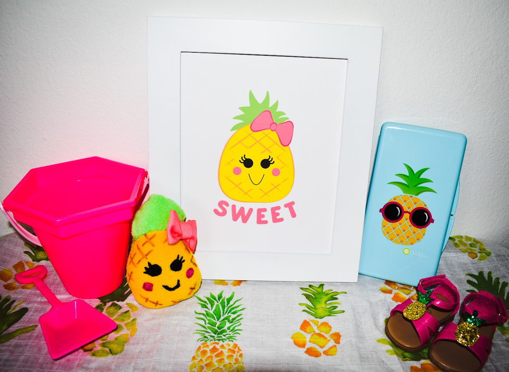 pineapple baby printable art