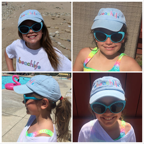 kids beach hat