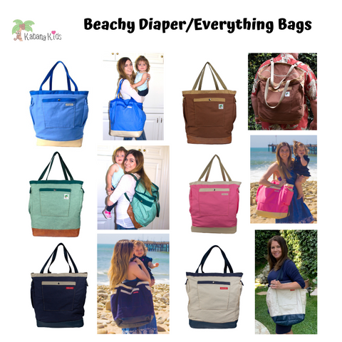 beachy bags for moms and dads