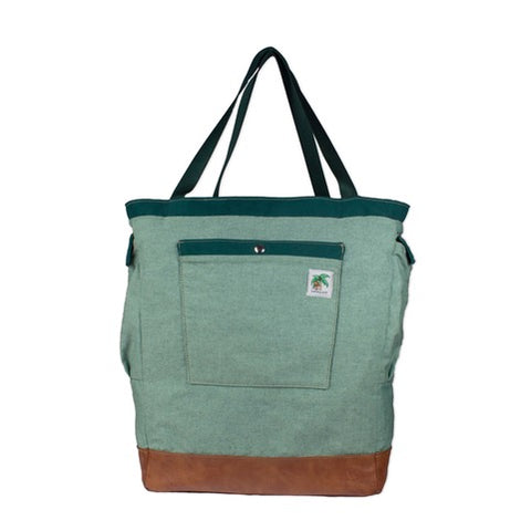 green diaper bag for dad